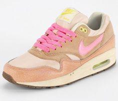 Air Max 1 Metallic Pink 02 <3