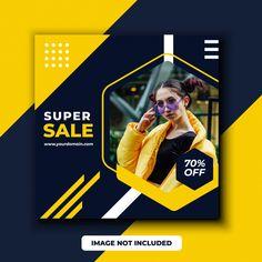 Special offer sale web banner Premium Ve. Social Media Banner, Social Media Branding, Social Media Design, Banner Design Inspiration, Web Banner Design, Creative Poster Design, Creative Posters, Ad Design, Branding Design