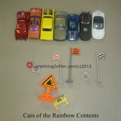 Cars of the Rainbow Contents