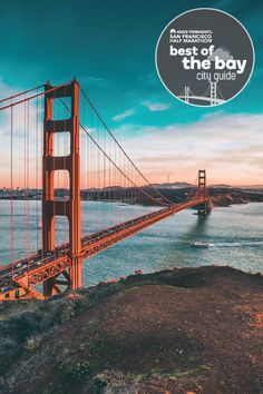 Ready to take on a little elevation? The four-mile run up and over the Golden Gate Bridge climbs 400 feet in elevation, but it's worth it for the breathtaking views along the way. Plan to take lots of rest breaks to soak it in and snap those selfies!
