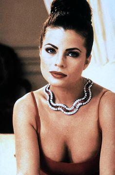 women of the Yasmine Bleeth, Maxim Magazine, Baywatch, Female Models, Amazing Women, Pearl Necklace, Singer, Chain, Diamond