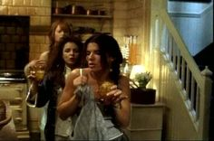 Practical Magic - you put the lime in the coconut and shake it all up