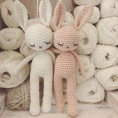 44 Awesome Crochet Amigurumi For You Kids for 2019 - Page 39 of 44 Crochet Baby Toys, Crochet Animals, Crochet Dolls, Baby Knitting, Crochet Bunny Pattern, Crochet Patterns Amigurumi, Amigurumi Doll, Art Au Crochet, Knitted Bunnies