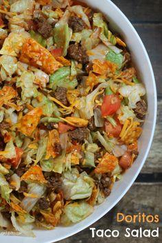 Taco Salad Supreme. Um yum.