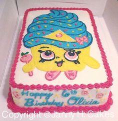 Shopkins cake  Cupcake queen