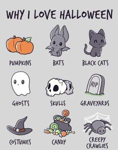 Why I Love Halloween halloween halloween pictures halloween images halloween quo. - cards and sayings - Halloween Halloween Tags, Halloween Fotos, Couples Halloween, Image Halloween, Feliz Halloween, Looks Halloween, Halloween Season, Halloween Horror, Holidays Halloween