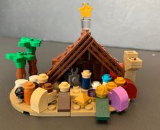 Lego Christmas Presents, Lego Christmas Ornaments, Lego Christmas Village, Lego Village, Christmas Nativity Scene, Christmas Crafts, Merry Christmas, Xmas, Lego Advent