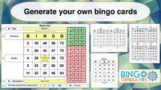 Bingo Card Generator Excel Tutorial In Blank Bingo Card Template Microsoft Word Sample Professional Temp Bingo Card Generator Bingo Card Template Bingo Cards