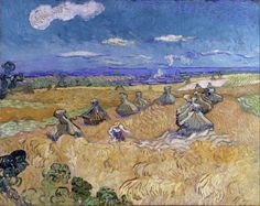 Art of the Day: Van Gogh, Wheat Fields with Reaper, Auvers, July 1890. Oil on canvas, 73.6 x 93.0 cm. The Toledo Museum of Art, Ohio.