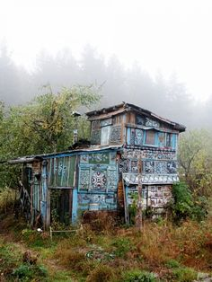 Painted Russian House