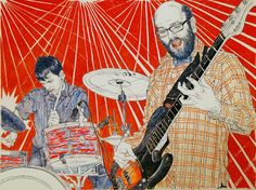 A vision of modern American life by Hope Gangloff | using patterns to create emotion