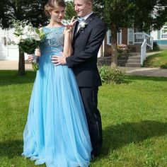 H423 gorgeous long scoop a-line beads blue prom dress with ribbon,backless blue prom dresses
