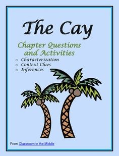 This novel study for Theodore Taylor's The Cay includes chapter questions for each of the 19 chapters, a background activity to use before reading, two characterization activities, two context clues activities, and two inferencing activities. $