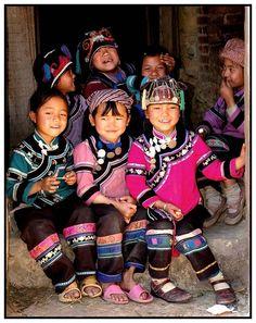 Children of the Rice Terrace - Yuanyang, Yunnan China by Tony Mok
