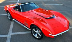 1969 Chevrolet Corvette Stingray Roadster.