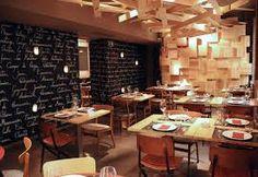 Resultado de imagen para mesas restaurante madera