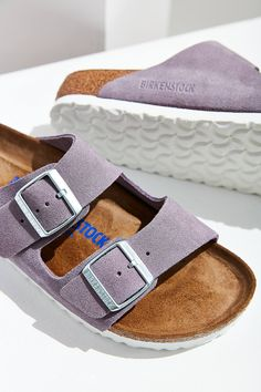 Slide View: 1: Birkenstock Arizona Soft Footbed Slide
