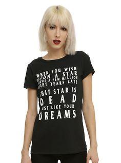 Wish Upon A Star Girls T-Shirt,