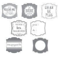 Un amour d'étiquette - Stampin' Up! - 131634 ($22)