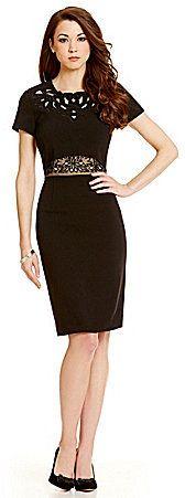 55e037ff560 Antonio Melani Adelle Crepe Dress