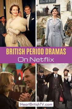 British Period Dramas On Netflix in dozens of period dramas from England, . - Netflix Movies - Best Movies on Netflix - New Movies on Netflix Period Drama Movies, British Period Dramas, Period Piece Movies, Best Period Dramas, Films Netflix, Netflix List, Netflix Hacks, Tv Series On Netflix, Best Shows On Netflix