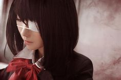 Mei Misaki (見崎鳴) (Mon - WorldCosplay) | Another #anime #cosplay