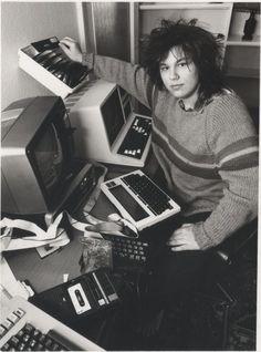 Matthew Smith, Manic Miner and Jet Set Willy creator. (UK, 1980's)