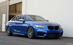 Gorgeous Estoril Blue BMW M235i Gets Transformed Into A Beast - http://www.bmwblog.com/2015/01/21/gorgeous-estoril-blue-bmw-m235i-gets-transformed-beast/
