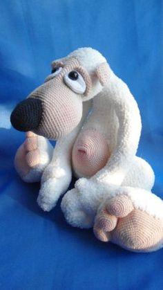 Потап - Мои любимки - Галерея - Форум почитателей амигуруми (вязаной игрушки)