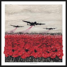 Raid Of Remembrance from the War Poppy Collection by Remembrance Artist Jacqueline Hurley Military Fine Art print Memorial Day, Tattoo Wallpaper, Remembrance Day Art, Remembrance Day Drawings, Ww1 Art, Original Art, Original Paintings, Mardi Gras Party, The Cure