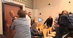Holland: chair against judge - Video