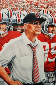 Coach Woody Hayes, Ohio State Football There will never be another coach like Woody. or Tressel for that matter. Buckeyes Football, College Football Teams, Ohio State Football, Ohio State University, Ohio State Buckeyes, University College, Football Memes, Oklahoma Sooners, American Football