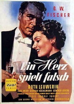Poster zum Film: Ein Herz spielt falsch. 1953