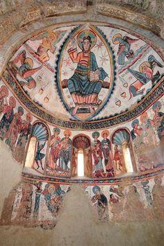 Resultado de imagen de abside de santa maria de mur Lleida