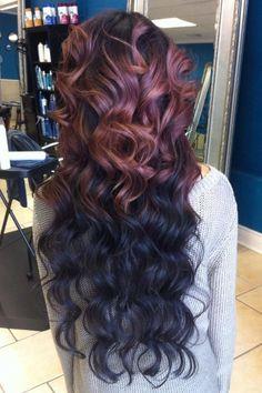 Half brown, half black, totally beautiful!