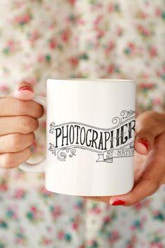 Photographer by Nature Mug
