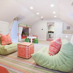 Extraordinary Diy attic remodel cost,Attic bedroom suite ideas and Attic renovation floor joist Attic Playroom, Playroom Design, Attic Rooms, Kids Room Design, Attic Bathroom, Attic Library, Attic Loft, Attic Stairs, Attic Ladder