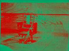 Andy Warhol, Big Electric Chair, 1967–68. ©2015 THE ANDY WARHOL FOUNDATION FOR THE VISUAL ARTS, INC./ARTISTS RIGHTS SOCIETY (ARS), NEW YORK/THE ART INSTITUTE OF CHICAGO, GIFT OF EDLIS/NEESON COLLECTION
