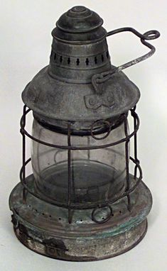 Style/Idea: American Country lighting Lantern iron. (Paint white.)