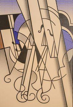 Roy Lichtenstein The Violin, 1976