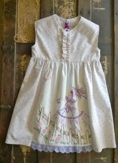 Toddler Dress, Vintage Embroidered Toddler Dress, 2T, Southern Belle, Handmade  Who doesnt love the feel of vintage linens!  This sweet