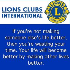 Lions club Lions International Logo, Lion Icon, Lion Poster, My Father, Wisdom Quotes, Helping People, Social Media, Posters, India