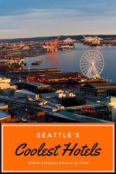 If you're looking for unique places to stay in Seattle, look no further than these unique Seattle hotels. Many have great views and amenities, and some are even bed and breakfasts! This list of where to stay in Seattle, Washington is curated by a local, so you know it's good! Seattle Waterfront, Seattle Hotels, Seattle Travel, Downtown Seattle, Unique Hotels, Best Hotels, South Lake Union, Cascade Mountains, Rooftop Deck