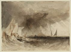 Joseph Mallord William Turner 'The Felucca', c.1824