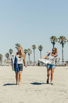 Surf checks with Bronte and Chelsea #ROXYsurf