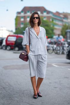New street style photos in from Copenhagen Fashion Week! See all the best looks here.