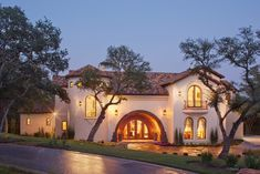 Spanish Villa exterior. #VanguardStudioInc