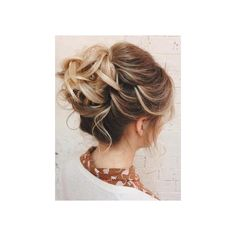 40 Quick and Easy Short Hair Buns to Try ❤ liked on Polyvore featuring accessories, hair accessories, long hair accessories and short hair accessories