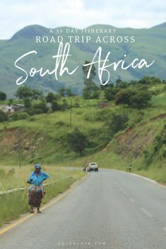 Itinerary for a one month #roadtrip across #southafrica