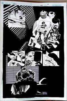 I MIEI SOGNI D'ANARCHIA - Calabria Anarchica: Risso - Batman - Broken city - Page 24 Artist: Ed...